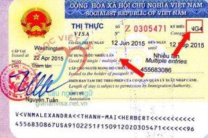 Ký hiệu thị thực NG4 - Gốc visa NG4