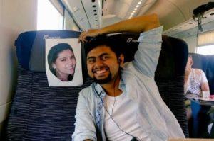 Vợ mất hộ chiếu, chồng đi hưởng tuần trăng mật cùng ảnh vợ
