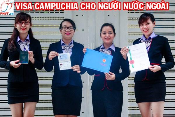 Visa Campuchia cho người nước ngoài