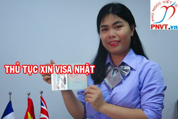 thủ tục xin visa đi nhật
