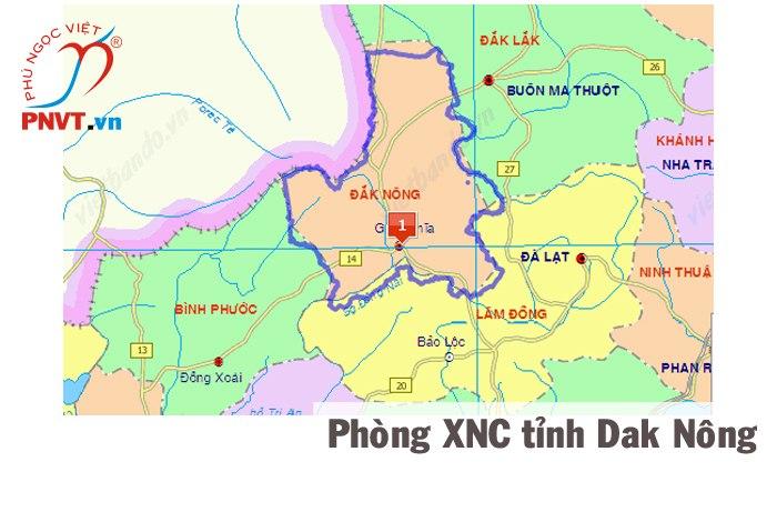 phòng xuất nhập cảnh công an tỉnh đắk nông: đường 23 tháng 3, thị xã gia nghĩa, tỉnh đăk nông